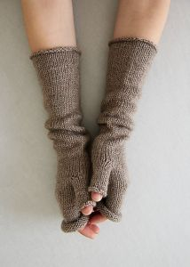 Stockinette Hand Warmers