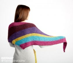 Knit Triangle Shawl