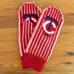 Opening Day Mittens