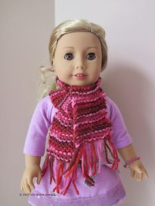 A Simple Doll Scarf