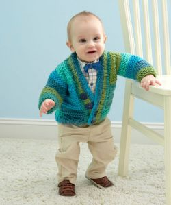 Soft Essentials Knit Baby Cardigan