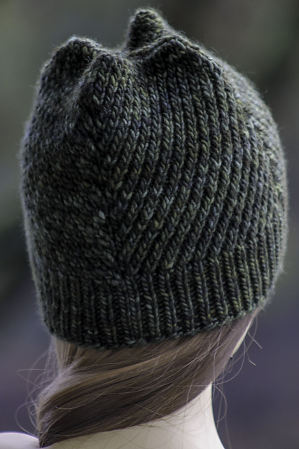 Knitting Patterns Galore Hats : Knitting Patterns Galore - Four Winds Hat