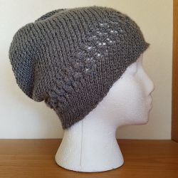 Kelsey Lace and Spiral Hat