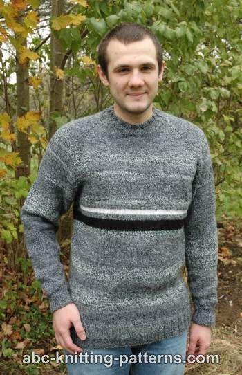 Knitting Pattern Mens Raglan Cardigan : Knitting Patterns Galore - Mens Top Down Raglan Sweater