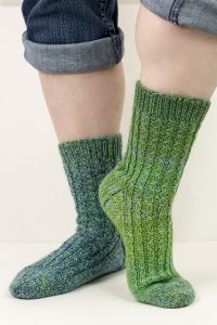Winding Roads Socks
