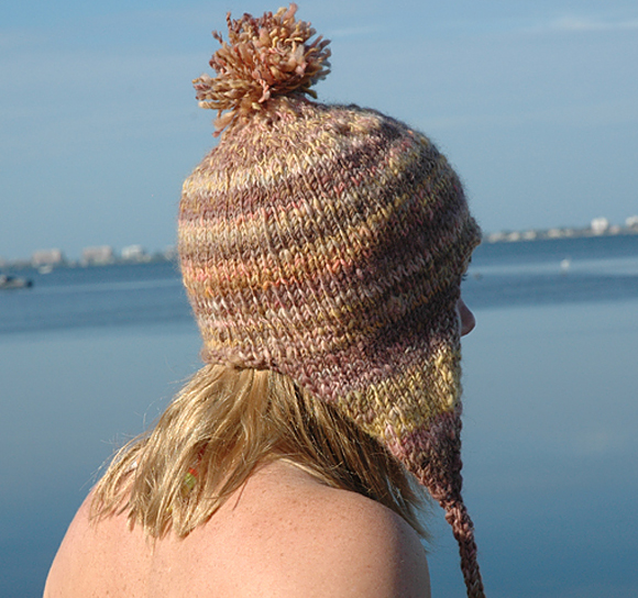 Earflap Hat Knitting Pattern Bulky Yarn : Knitting Patterns Galore - Southern Lights