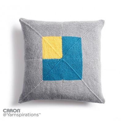 Knitting Patterns Galore Crazy Corners Knit Pillow