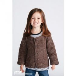 Textured Kids Cardigan