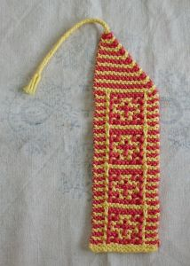 Ancient Mosaic Bookmark