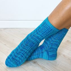 Spring Stream Socks