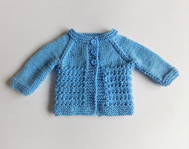 Knitting Patterns Galore Kensington Baby Jacket