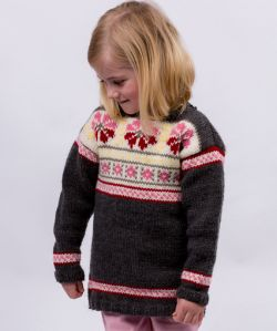 Girls Fair Isle Tunic