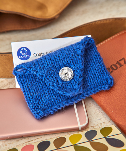 Knitting patterns galore handy business card case handy business card case reheart Choice Image