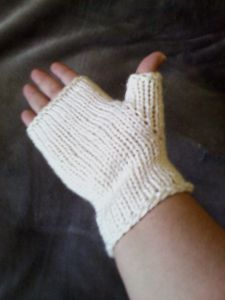 Simple Half Mitts