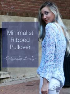 Minimalist Ribbed Pullover