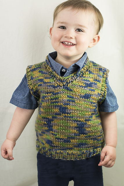 Knitting Patterns Galore Rookie Vest