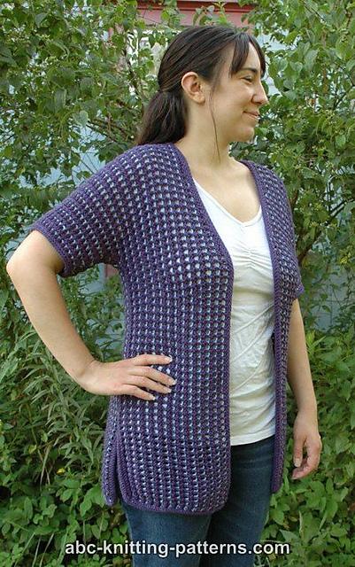 Knitting Patterns Galore - Subtle Mesh
