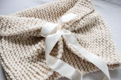Chunky Wedding Shawl