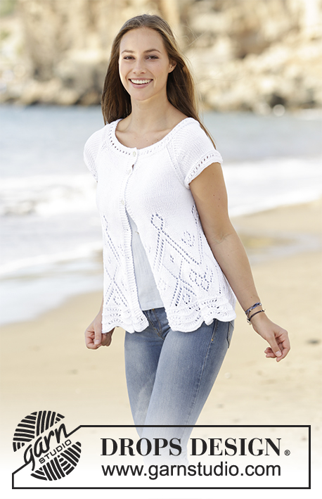 Knitting Patterns Galore - Summer Swing Cardigan