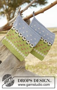 Summer Grazing Potholder
