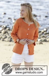 Orange Dream Cardigan