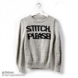 Stitch Please! Knit Sweater