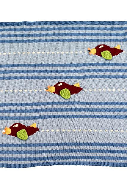 Knitting Patterns Galore Flight Blanket