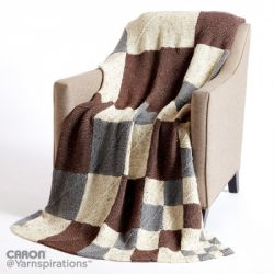 Building Blocks Knit Blanket