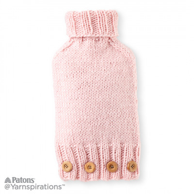 Knitting Patterns Galore Knit Hot Water Bottle Cover