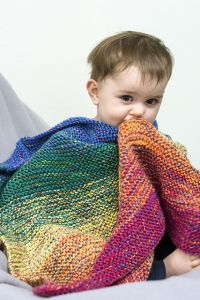 Shading Rainbow Blanket