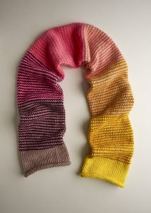 Stripey Tube Scarf