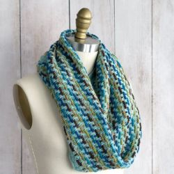 Trolley Tracks Infinity Scarf