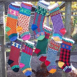 Cascade Christmas Stocking