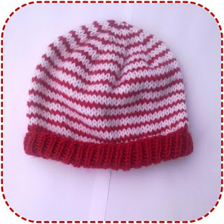 easy striped baby hat item type baby hats yarn weight sport suggested