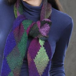 Northern Lights Scarf