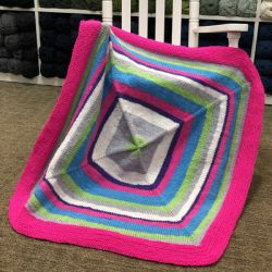 Inside - Out Baby Blanket