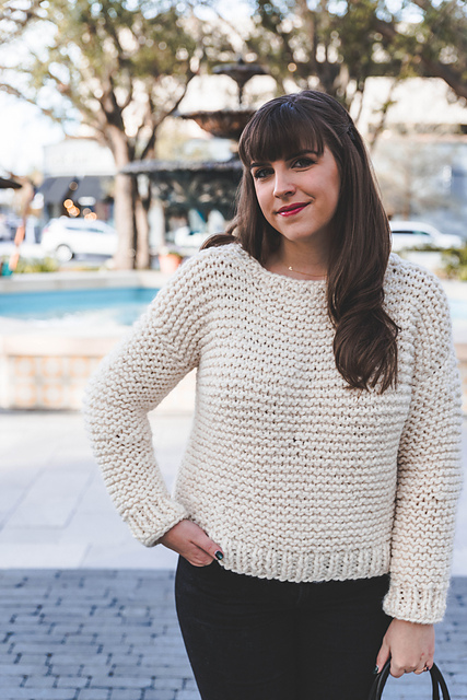 Knitting Patterns Galore Simple Sweater