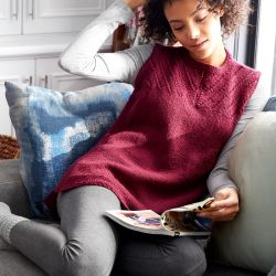 Sleeveless Knit Shell