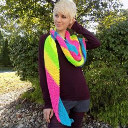 Asymmetric Shawl