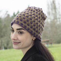 Two Color Weave Hat