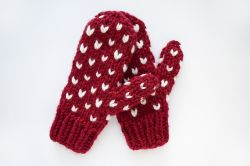 Little Hearts Mittens