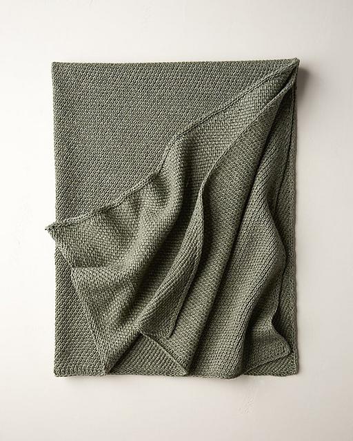 Knitting Patterns Galore Diagonal Slip Stitch Blanket