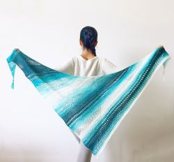 Stormy Waters Shawl