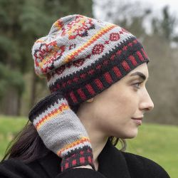 Indian Summer Slouch and Mitts