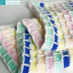 Knitting Patterns Galore Knit Brick Amp Mortar Baby Blanket