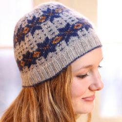 Incan Spice Fairisle Hat