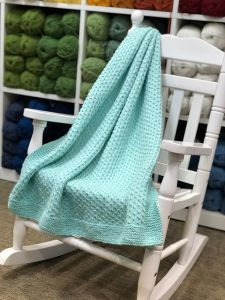 Dotted Swiss Baby Throw