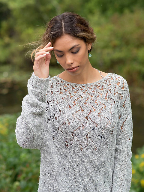 97e511b074af Lisette Free Knitting Pattern. Lisette · Click to Enlarge
