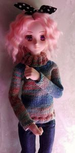 Turtleneck Sweater (Dollfie Dream, Smart Doll)