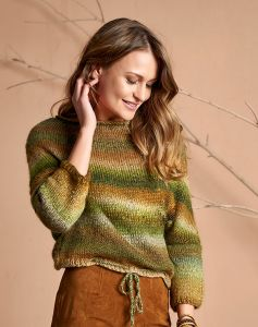 Easy Knitted Sweater Pattern for Women
